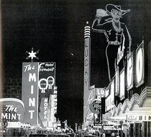 Figure 18.  Fremont Street, Las Vegas. 1965