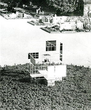 Figure 3. Monument to the victims of concentration camps. BBPR, Milan, 1946
