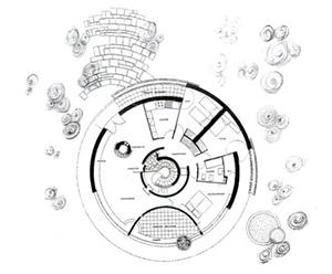 Figure 9. Villa Mainardis, plan