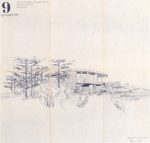 Figure 10. Villa Mainardis, perspective