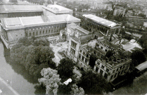 Figure 1. Aerial view of the ruins of the Neues Museum