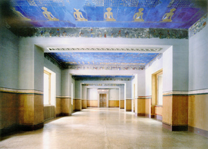 Figure 8. A newly restored mural in one of the museum's galleries