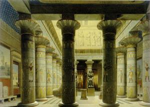 Figure 6. Stüler's Egyptian hall prior to its destruction