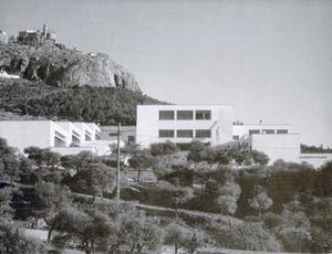 Figure 3. Junior School. Lycabbetus Hill, Athens, 1933