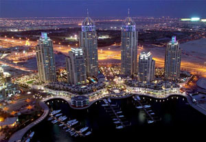 Figure 3 . Dubai Marina, HOK Architects