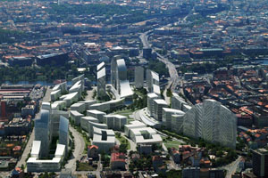 Figure 4 . Masterplan for Prague, Asymptote Architects