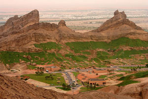 Figure 5 . A view of the greenery of Muzabarrah, a district in the city of Al Ain