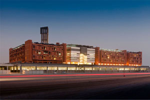 Figure 2 . Exterior view of Masdar Institute campus