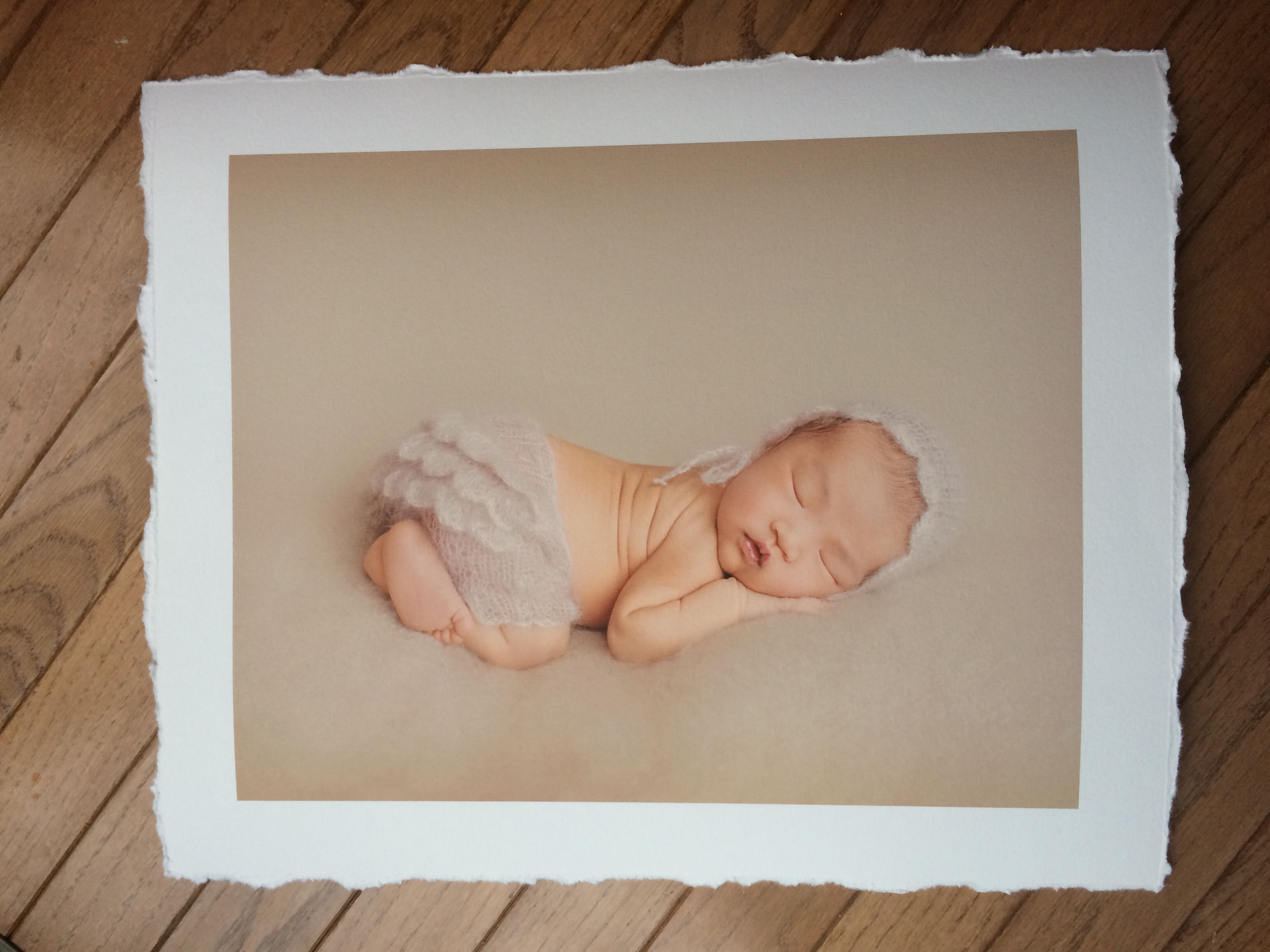 Newborn Photography watercolor print