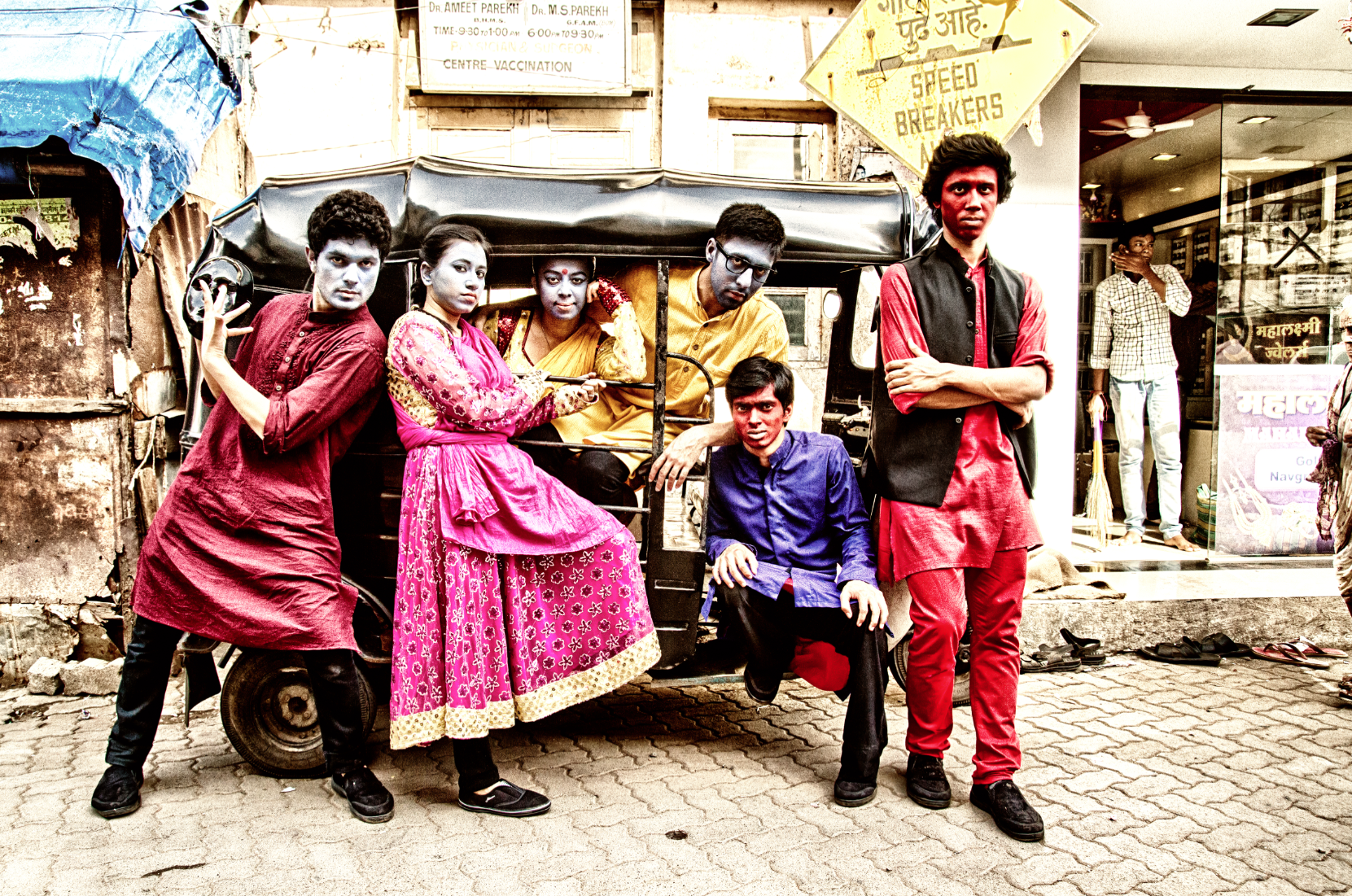 Imagine Health's street play about child sex abuse in India