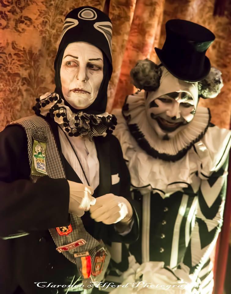 Royal Jester and Professor Grimaldi