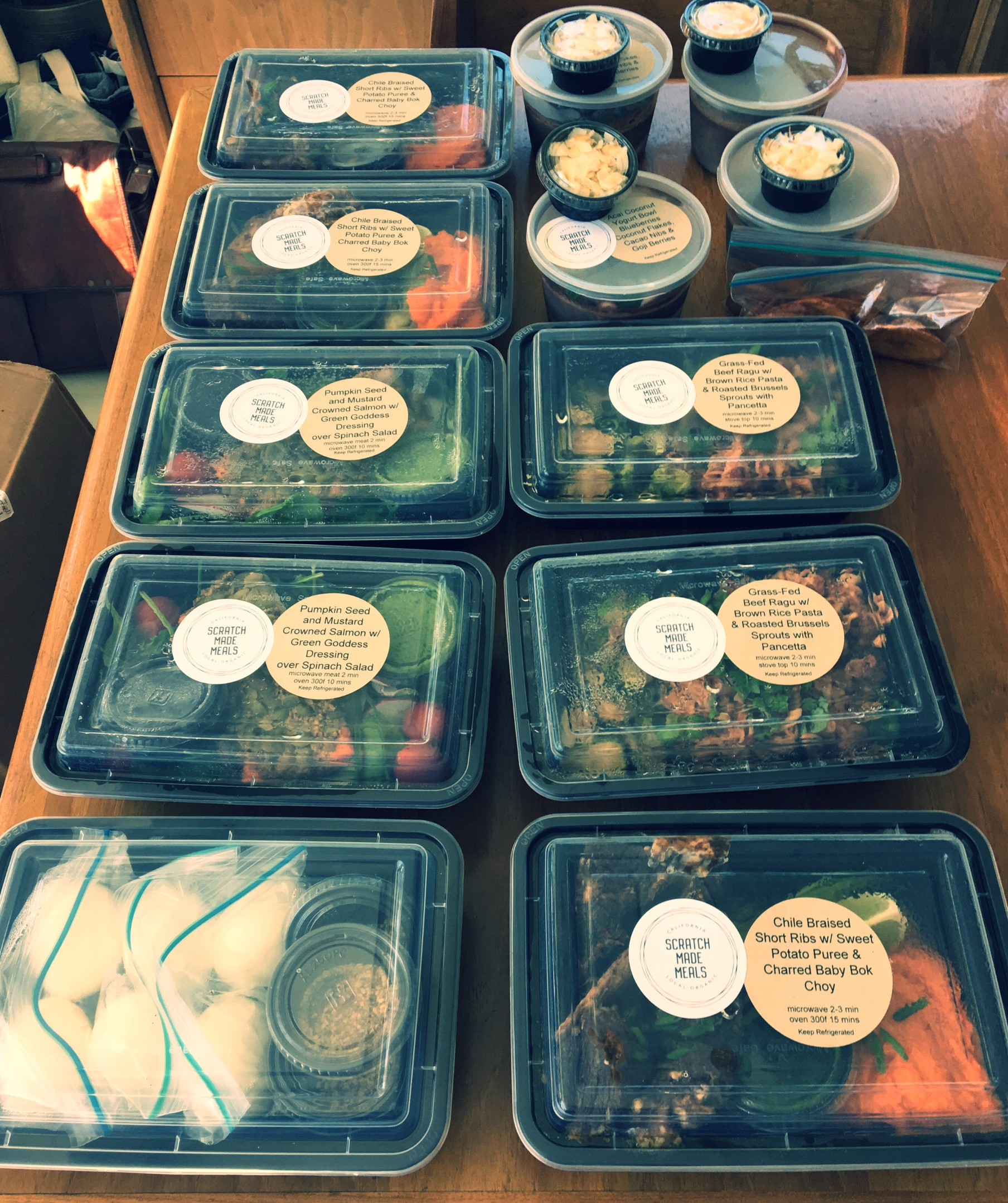 In-Home Meal Prep -