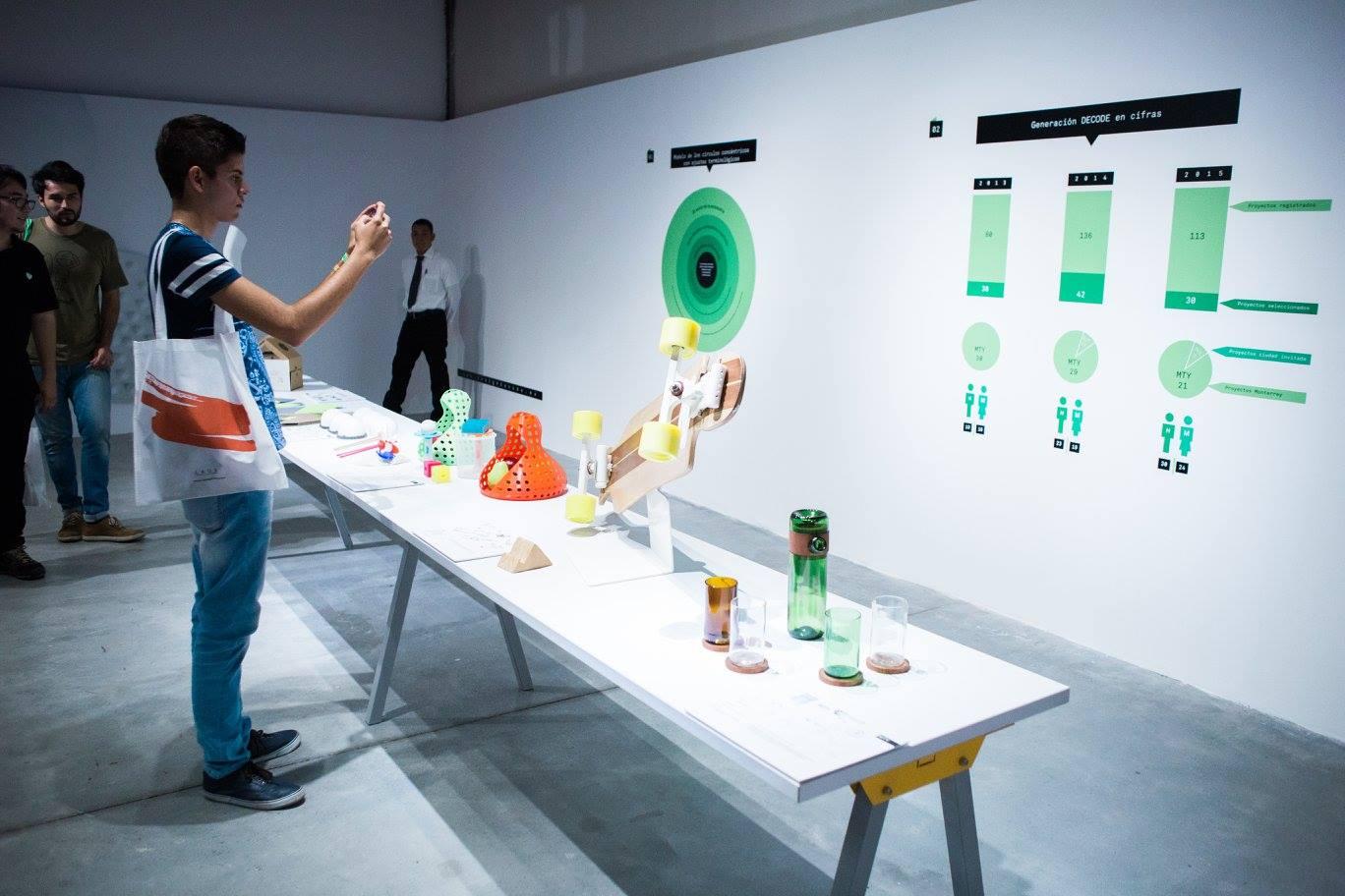 Exposición 2015 MTY NL - Nave Generadores CONARTE CDMX - Pabellón Universitario, Abierto Mexicano de Diseño Puebla - Centro Cultural Universitario *Ciudad Invitada: Puebla