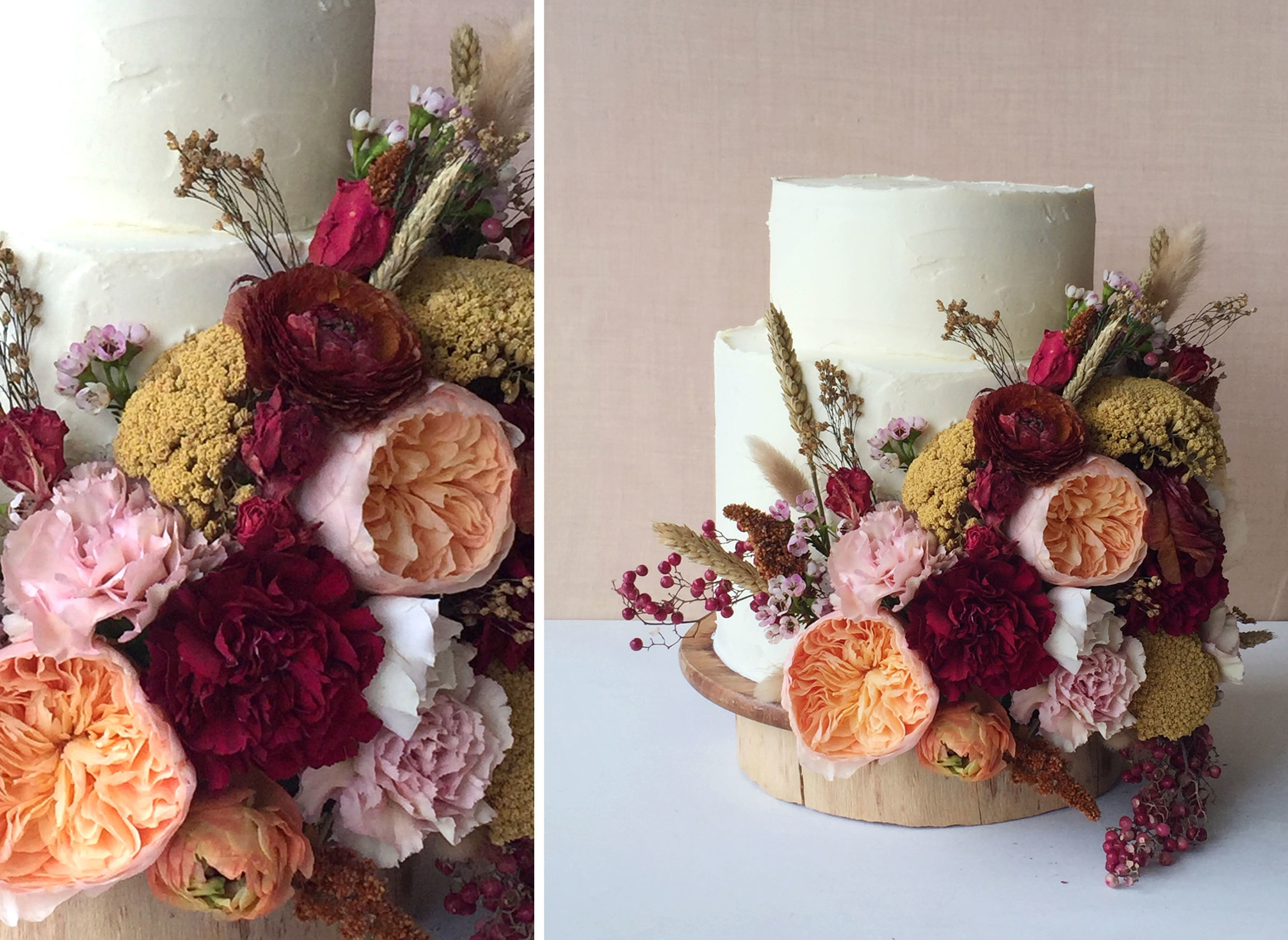 cakes created by  knead to make