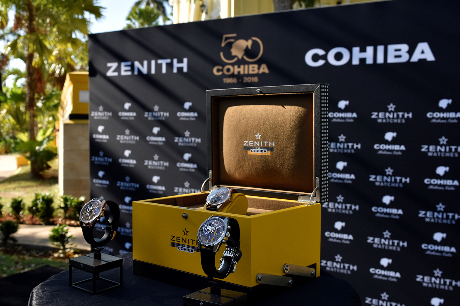 Legendary Watch Joins Forces with Luxury Cuban Cigars