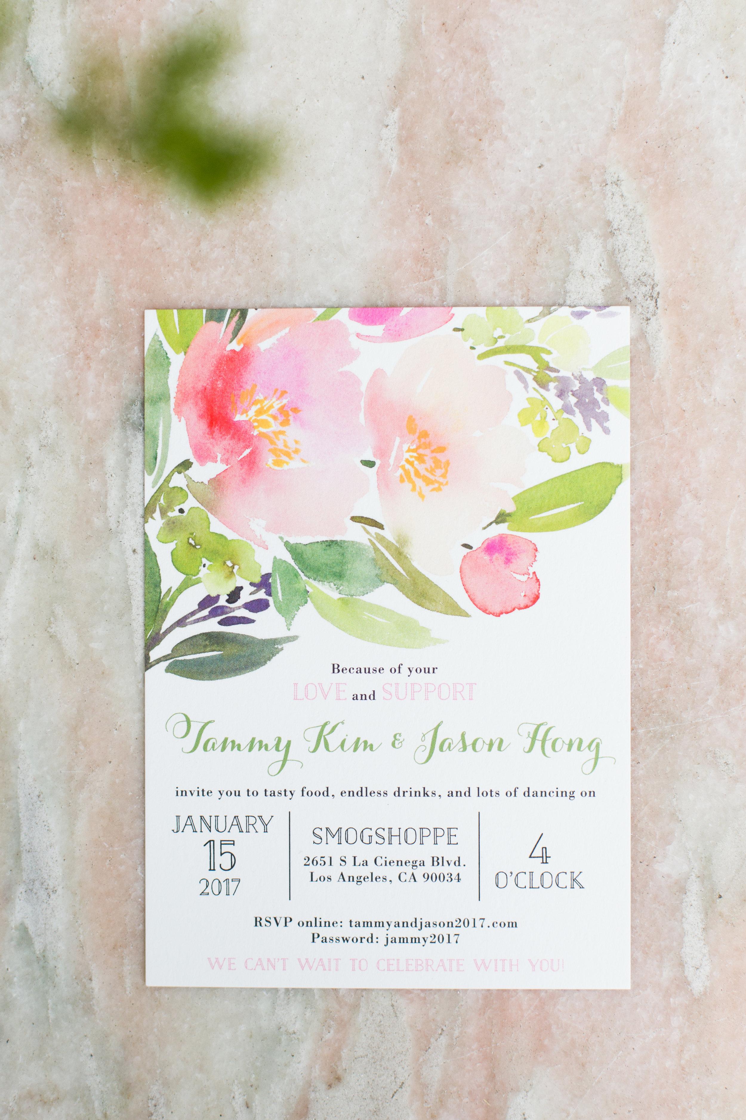 smog shoppe wedding
