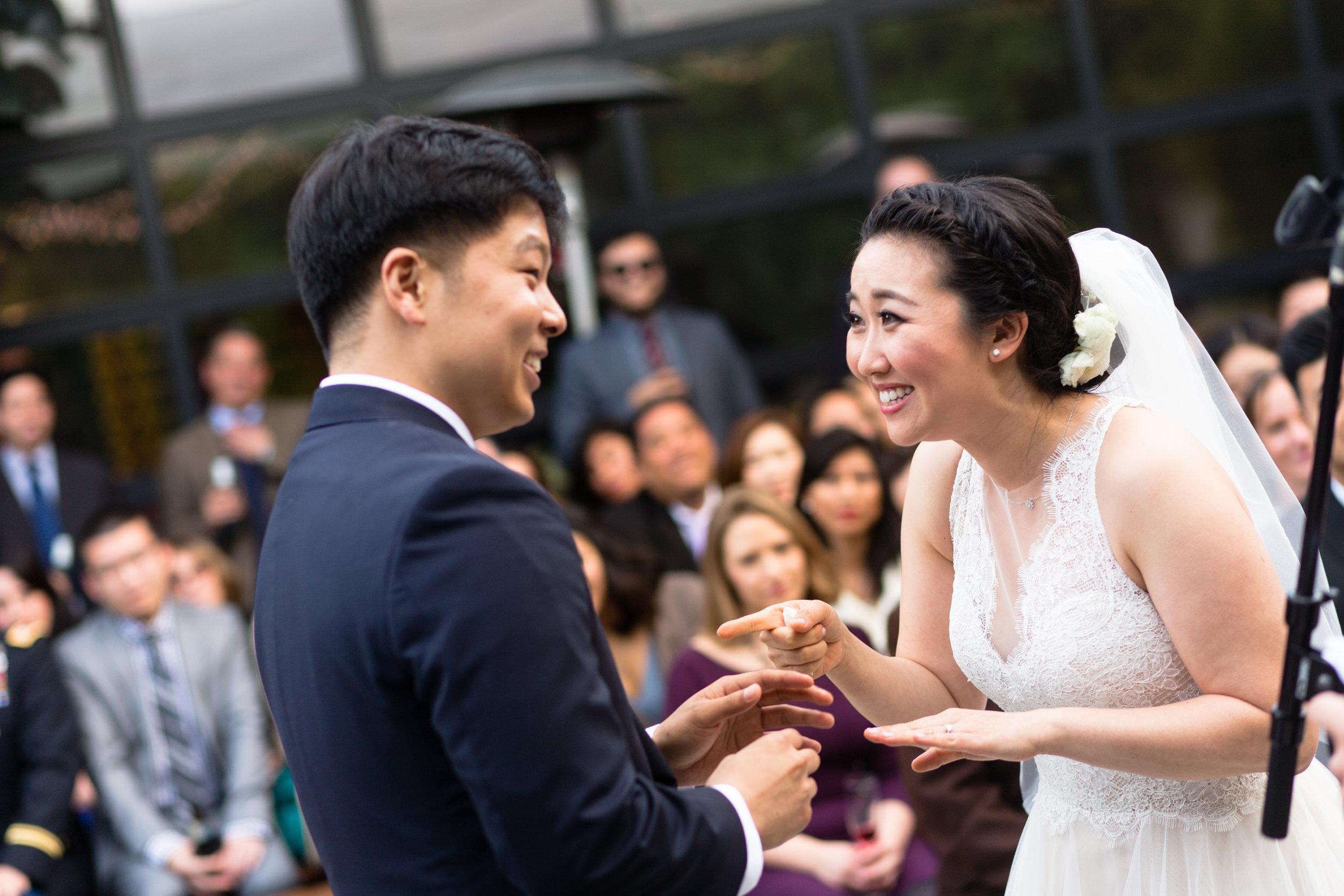 Wedding-at-The-Smog-Shoppe-cermony