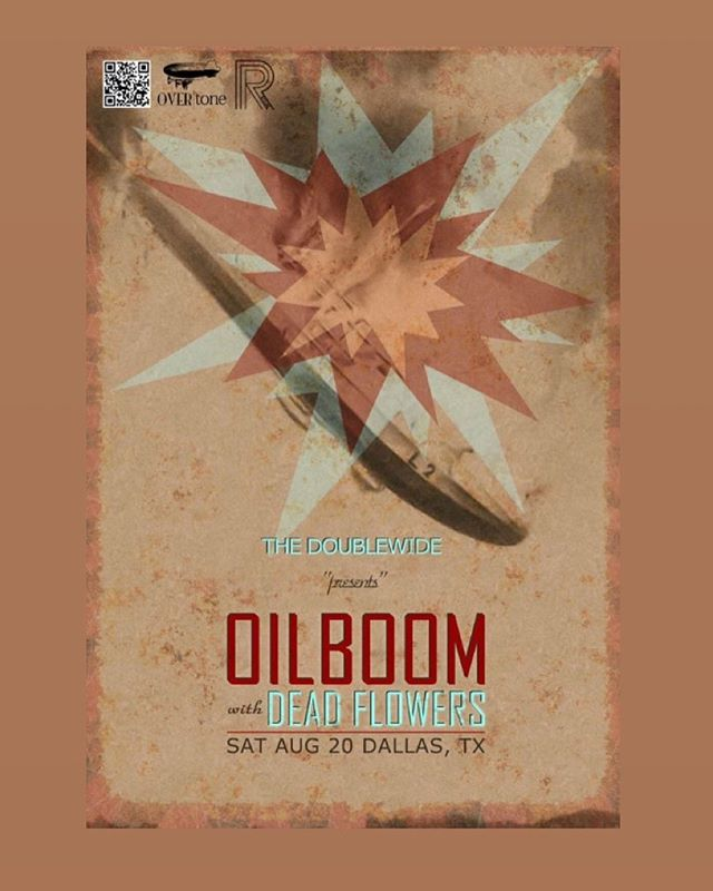 EIGHT YEARS AGO we had our first show at @doublewide_dallas with @oilboomband Our baby would be in like First grade or something... Anybody remember anything from that night? Lol It's been a hell of an adventure! See you soon friends! . . . #dffe #hideyourfathers #album #dallasmusic #rockandroll #fenderamp #ludwigdrums #orangeamps #ampeg #letsgetangry #newmusic #dallasmusic #albumrelease #deadflowers