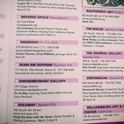 Williamsburg Magazine Listing
