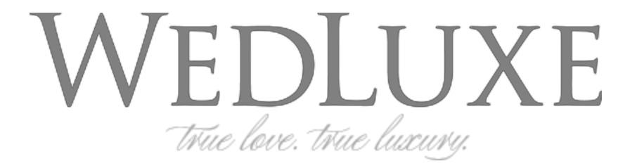 Philosophy Studios on WedLuxe