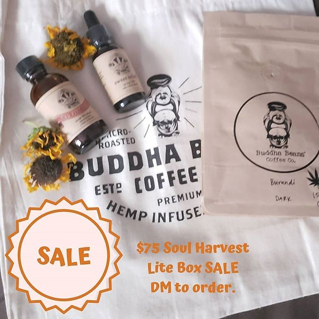 🌾🌾🌾SEPT. BOX SALE 🌾🌾🌾 Today only order a Lite box $25 off. DM to order. 21 and up. US residents only. The Soul Harvest box was curated with artisan CBD goods to soothe Root Chakra. #legalizemarijuana #womeninweed #womenincannabis #ganja #ganjagoddess #cannabis #cbd #chakracbd #cannabisheals #cannabiscommunity #cannabisculture #hightimes #cbdmonthlybox #chakralove #chakralovecannabis #subscriptionbox #chakrasandcannabis #chakrascannabischart #chakralover #chakralovepopupparty #cbdhomeparty #420 #maryjane #marijuana #chakralovebasics #chakralovecbdbox