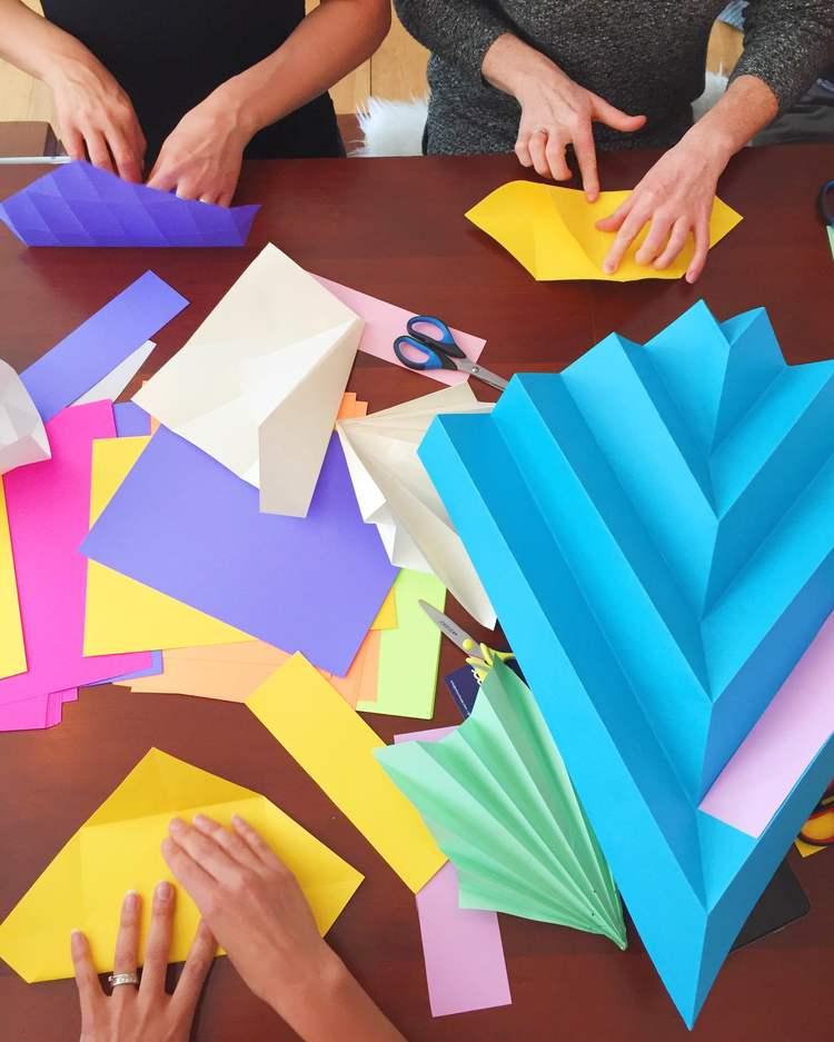 miss cloudy atelier workshop origami folding