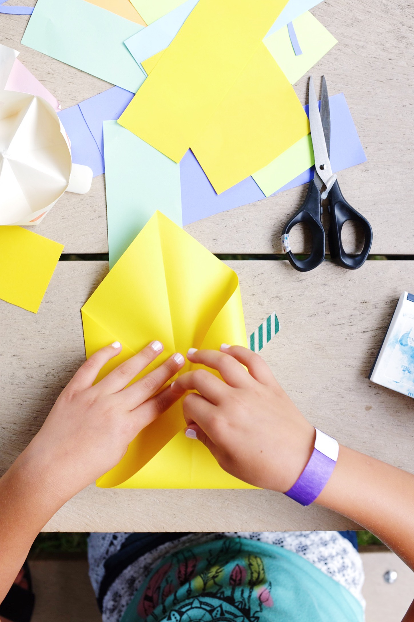 miss cloudy origami and folding workshop for beginners montreal jardins gamelin