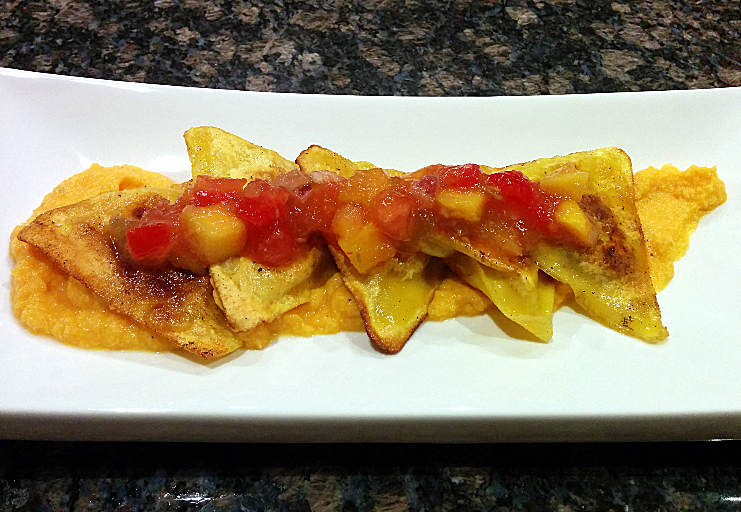pan seared ravioli with sweet potato mango sauce 2.jpg
