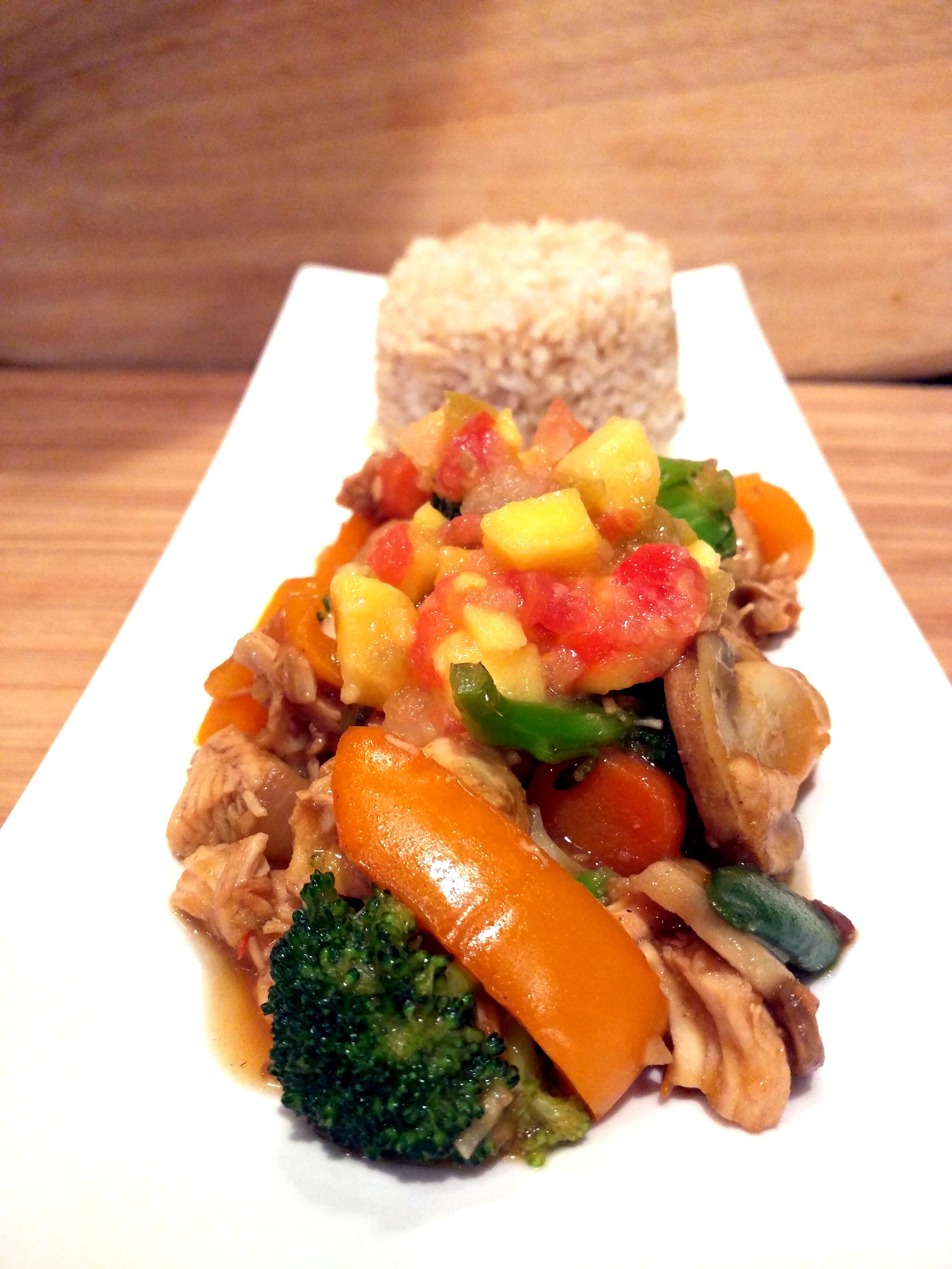 Mango Chicken Stir Fry - Bon Apetit