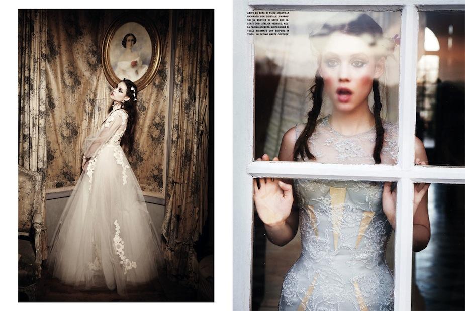 Astrid Bergès-Frisbey by Ellen von Unwerth (Gleaming Mermaid - Vogue Italia March 2012) 5.jpg