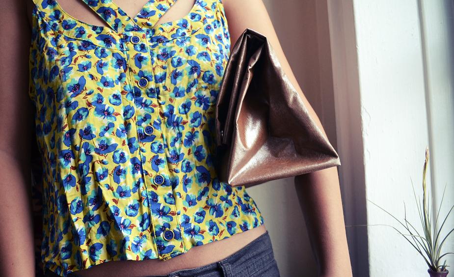 DIY faux leather paper bag clutch.jpg