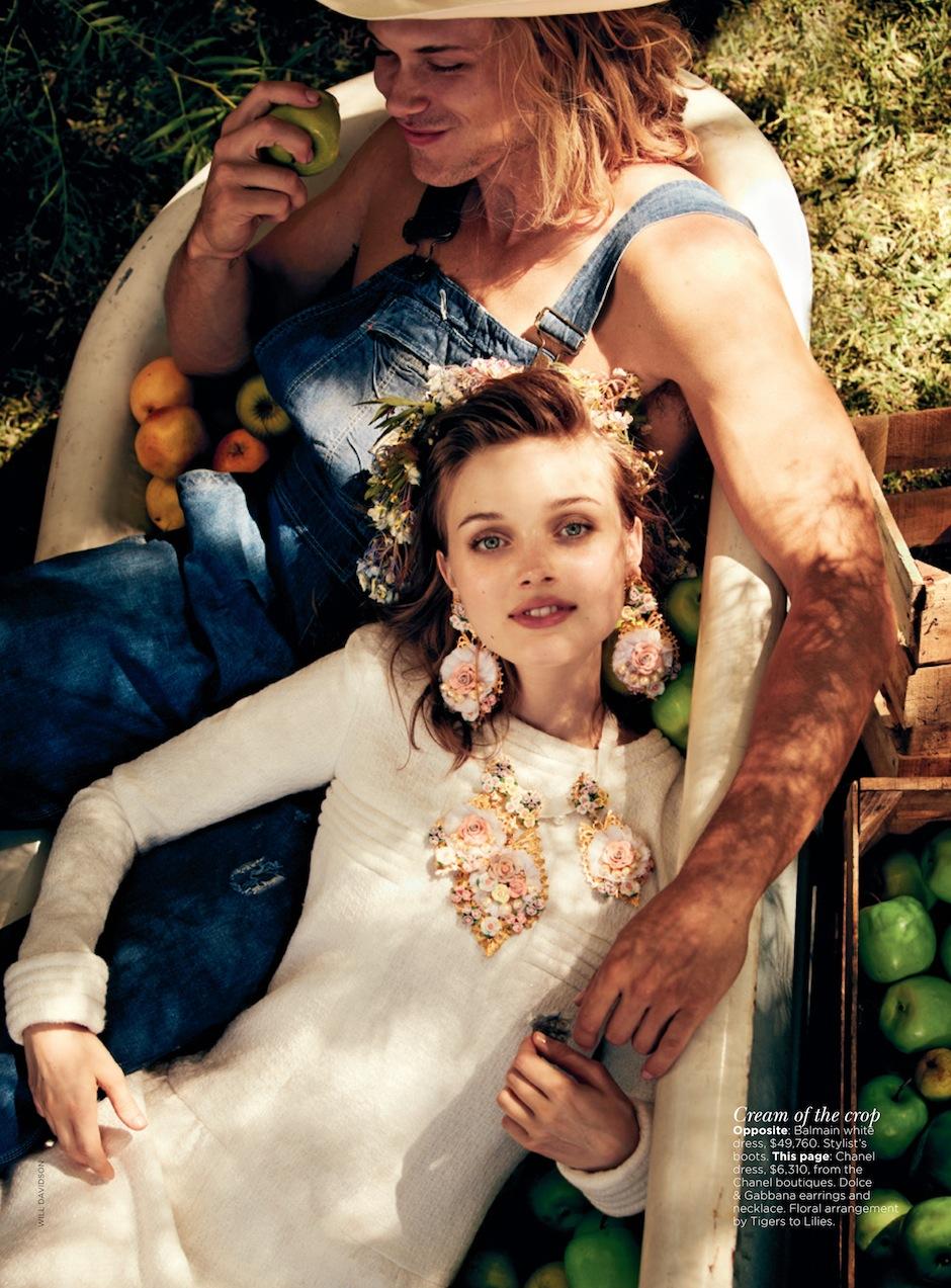 Bella Heathcote by Will Davidson (Ciao Bella - Vogue Australia September 2012) 5.jpeg