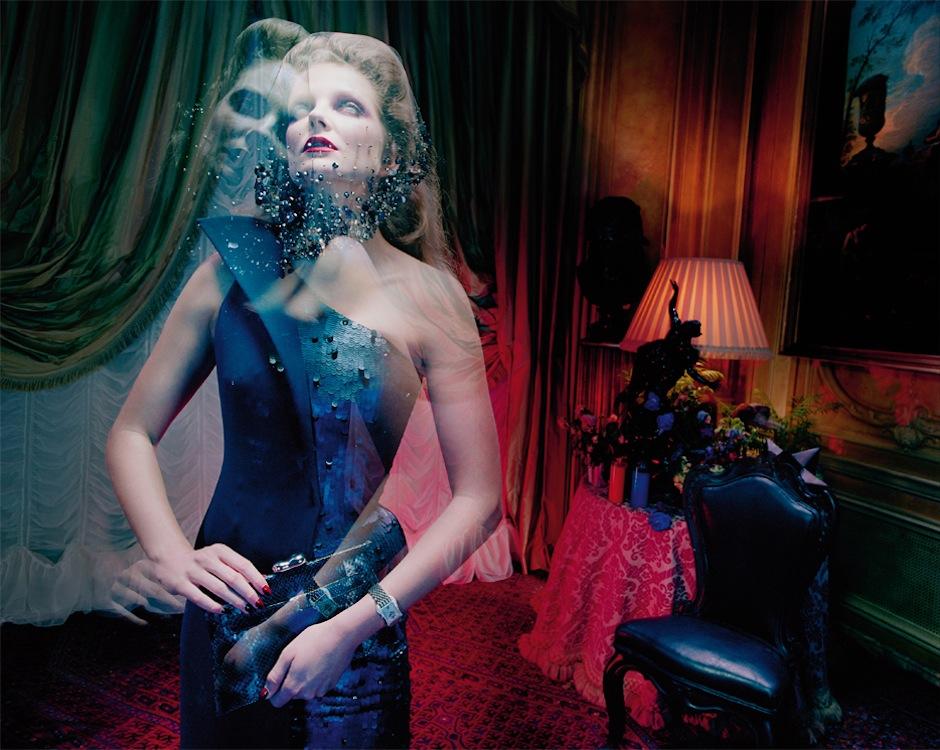 Eniko Mihalik by Miles Aldridge (So Magical, So Mysterious - Vogue Italia September 2012) 5.jpeg