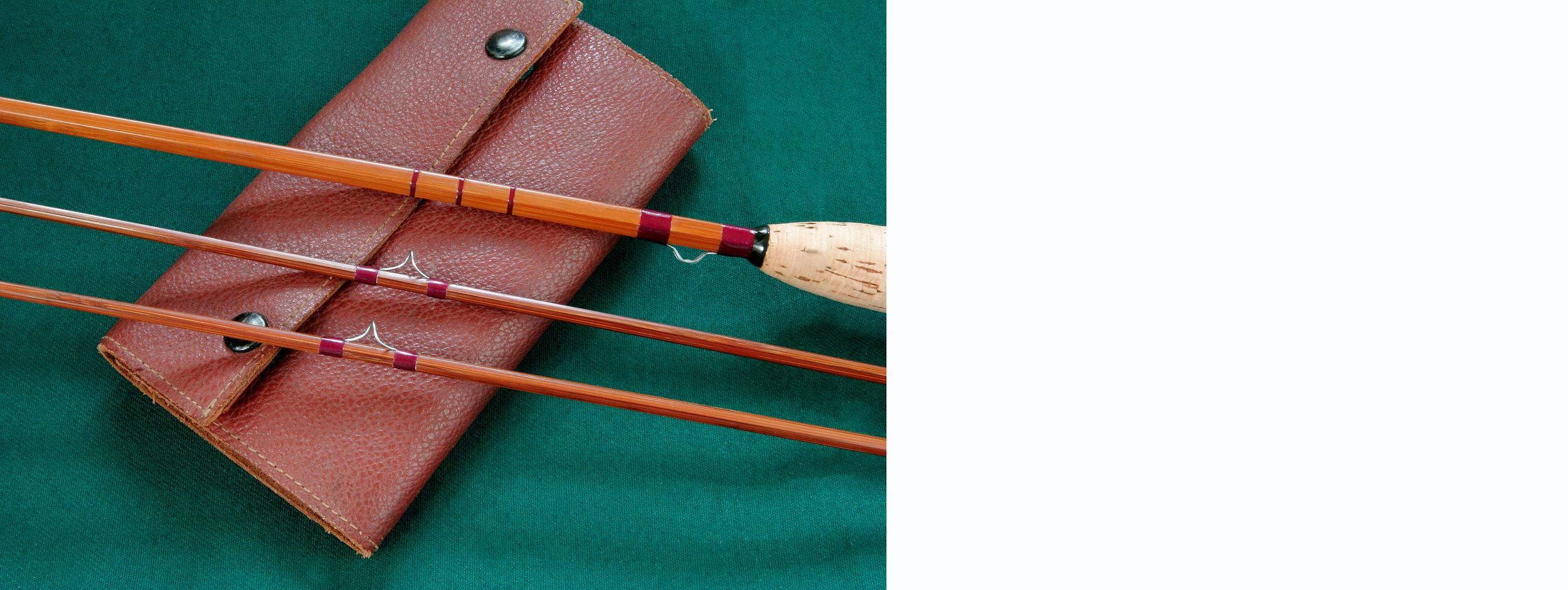 Orvis Bamboo Fly Rod, c. 1978, ebay photograph