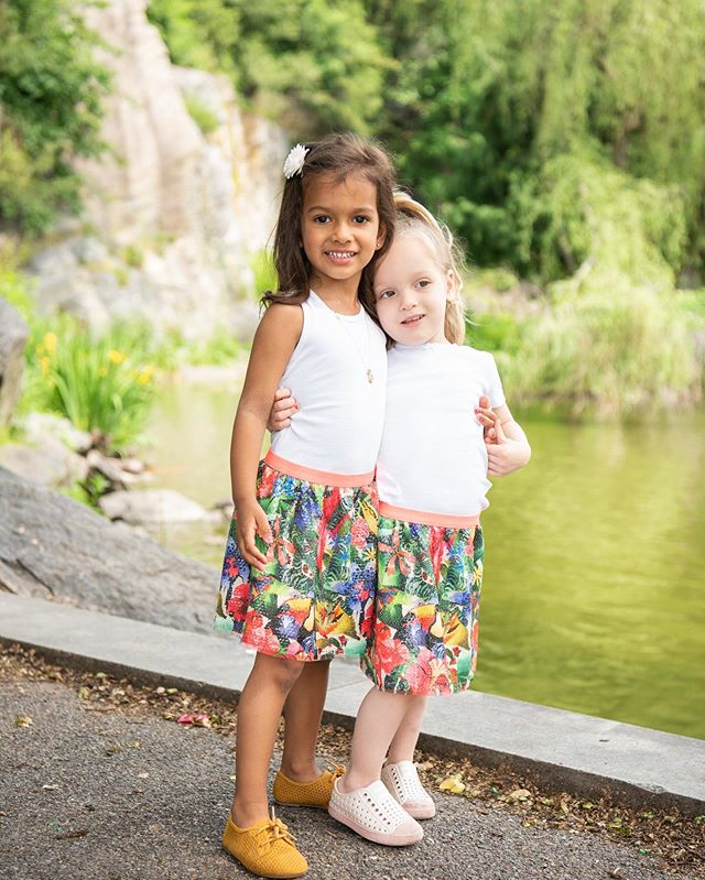 Jamila and I were so happy to share this shoot with our cousins while they were Visiting us from Michigan ! So excited that we can look forward to these girl trip weekends with our daughters forever @dawn8177 !! #3weeksapart