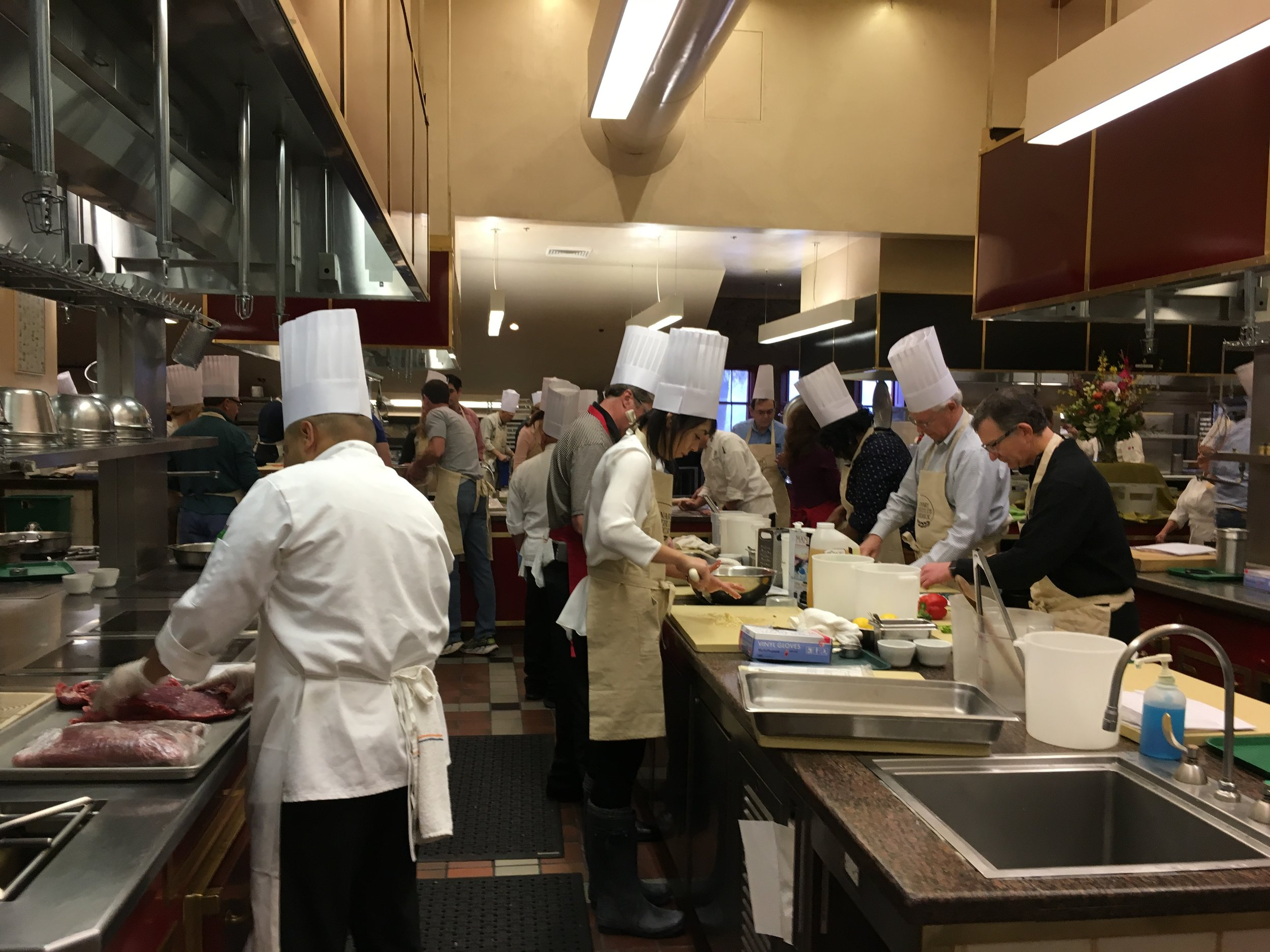 Chopped Team Competition at CIA