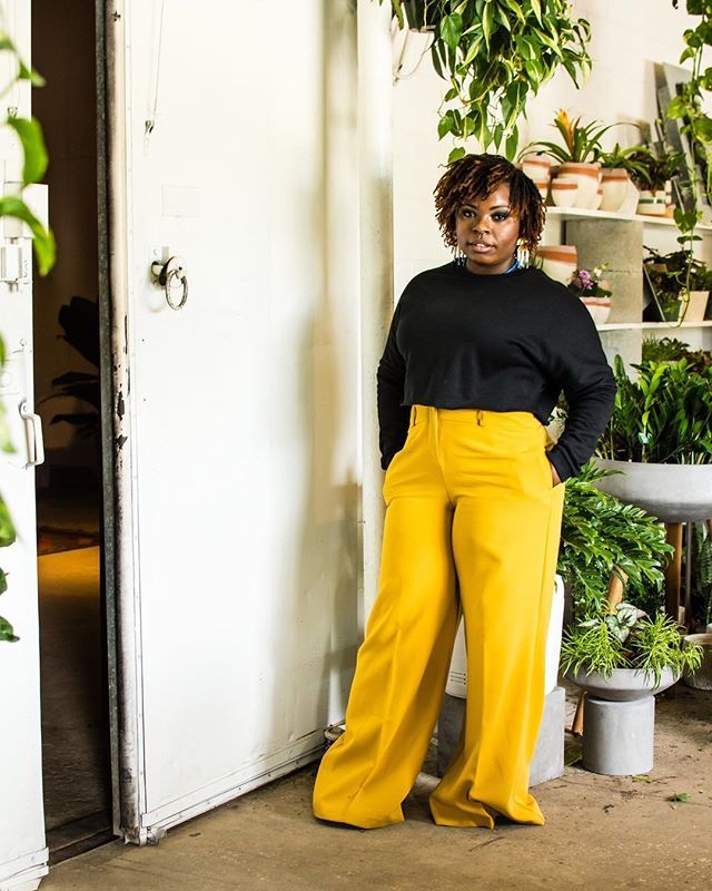 """@naturalannieessentials says """"I'm in support of women supporting women FOR REAL!, not just for social media, not just for the hype, but for REAL REAL!"""" - read our interview with her and shop selections from her line in store and online! 🖤💛🖤"""