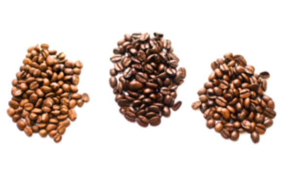 We roast our beans every morning.  Learn more  in our  Blog .