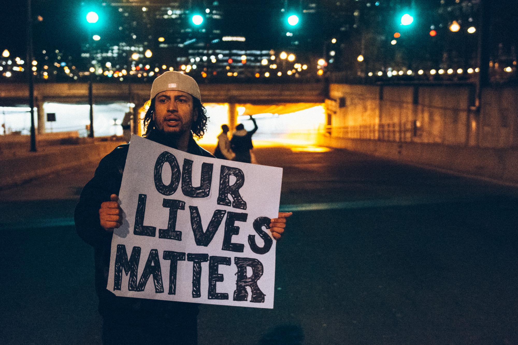 #EnoughIsEnough: Justice For Eric Garner Protest