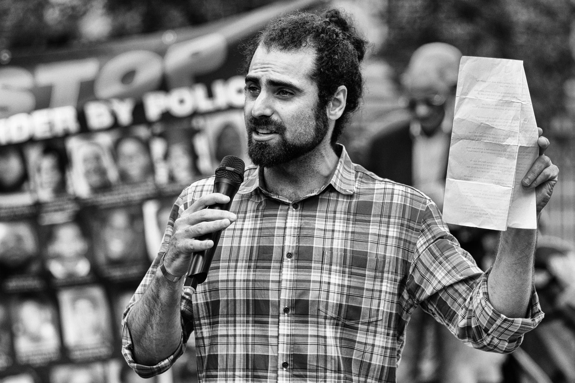 Cambridge City Council member Nadeem Mazen