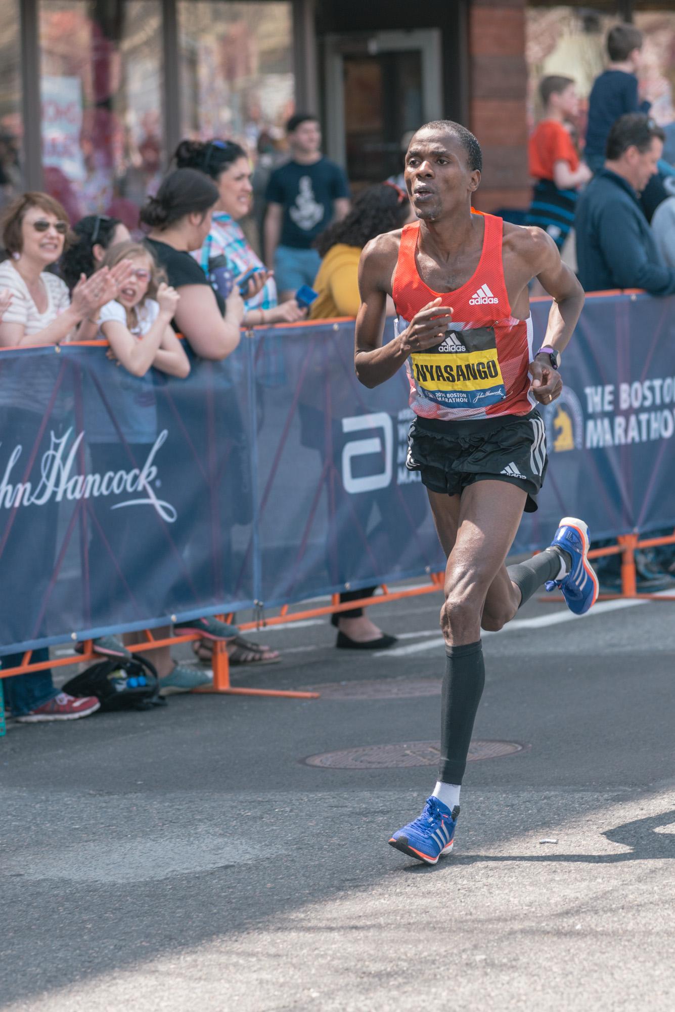 Cutbert Nyasango - 11th place