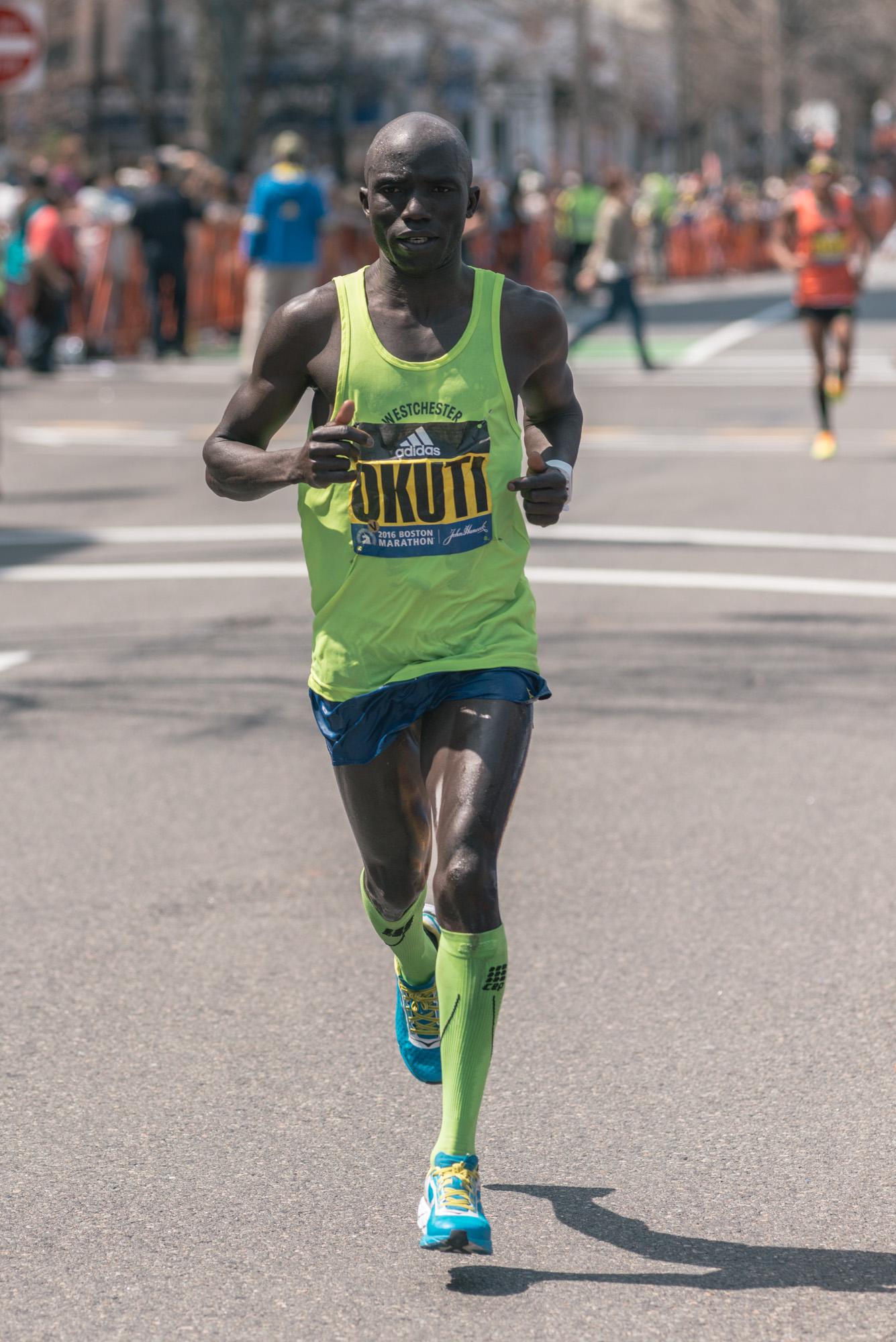 Harbert Okuti - 15th place