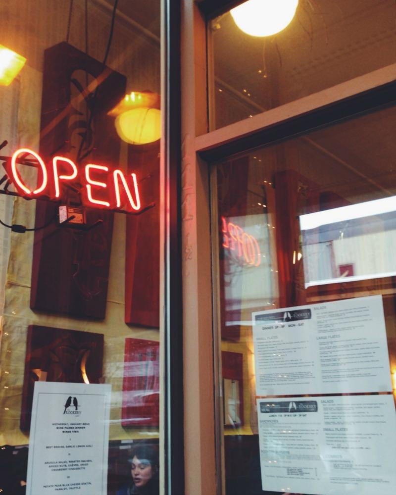 Rookery Cafe in Juneau, Alaska   Mallorie Owens