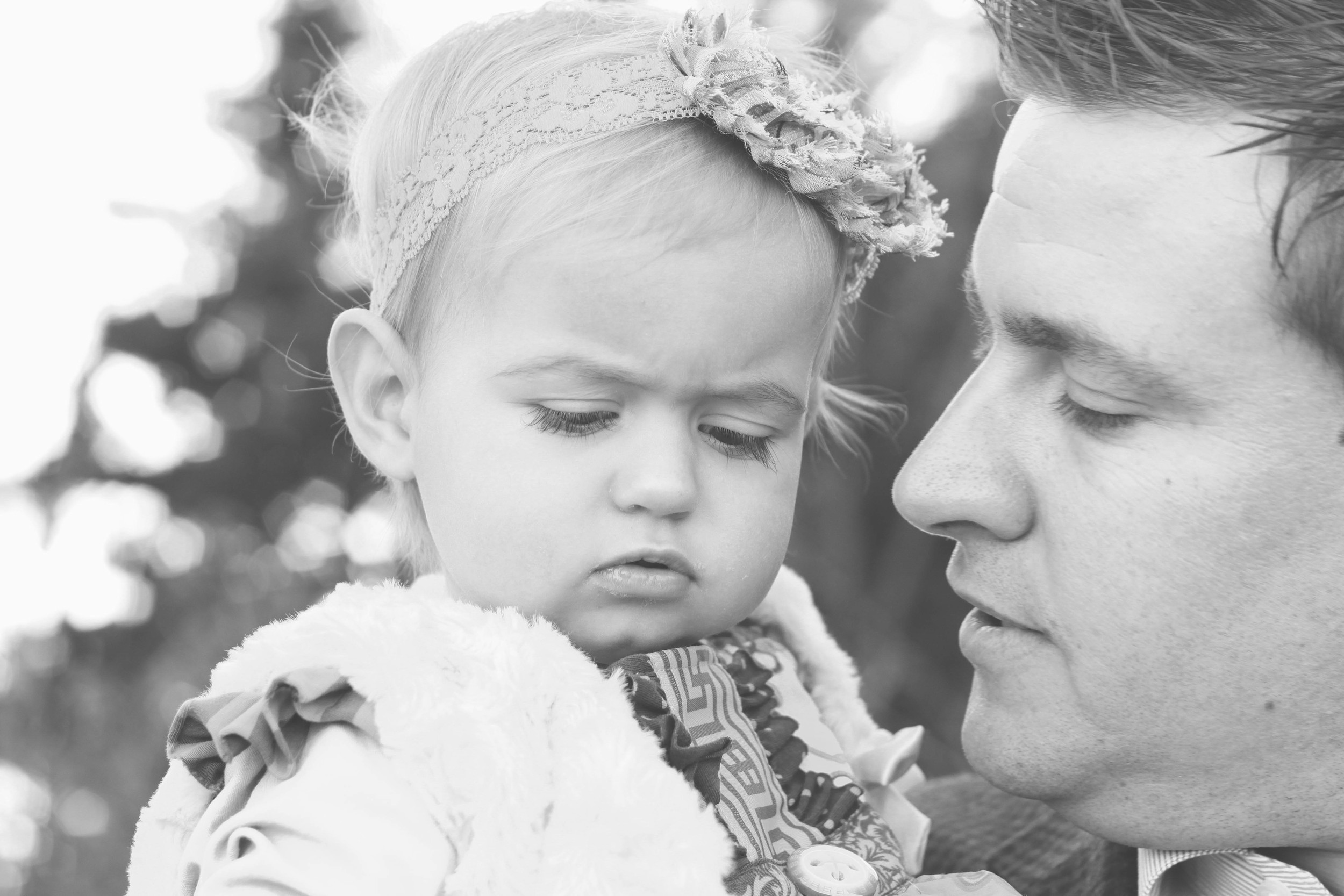 Dad and Baby | Mallorie Owens