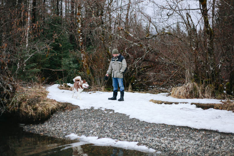 Walks with our dog. | Mallorie Owens