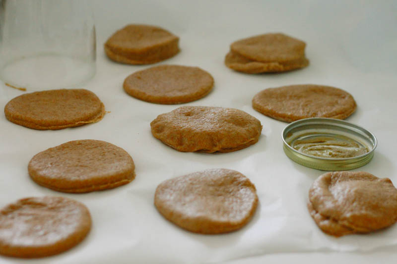 Peanut Butter Filled Doughnuts | Mallorie Owens