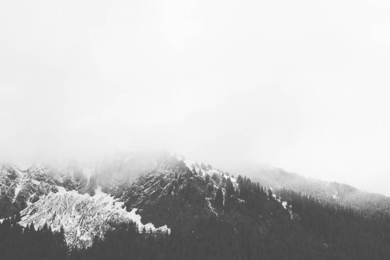 Black and White Mountains | Mallorie Owens