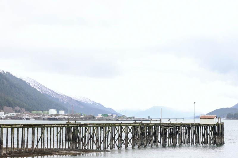 Dock in Juneau, Alaska | Mallorie Owens