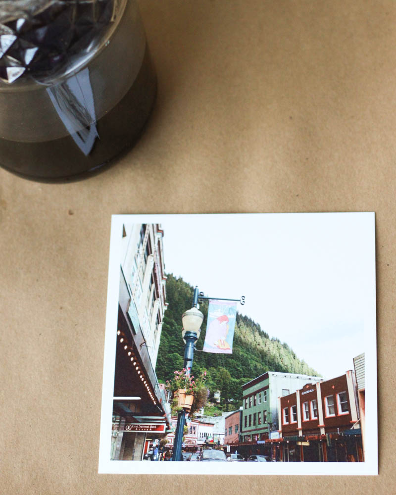 Downtown Juneau 5x5 Photography Print | MALLORIE OWENS