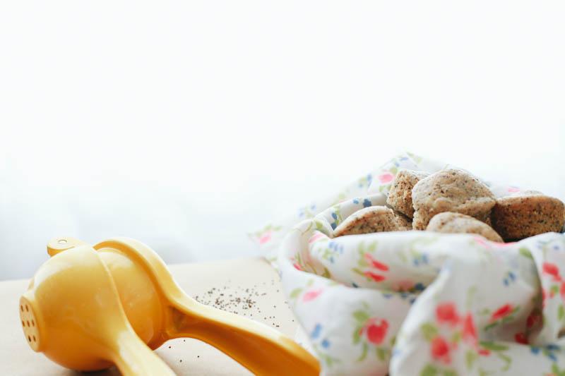 Mini Whole Wheat Lemon Poppy Seed Muffins Recipe   MALLORIE OWENS